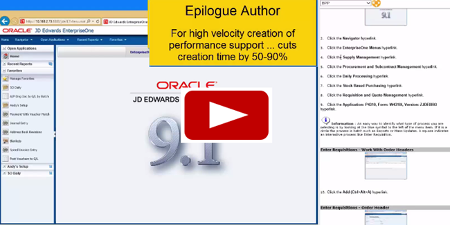 Epilogue Product Demo